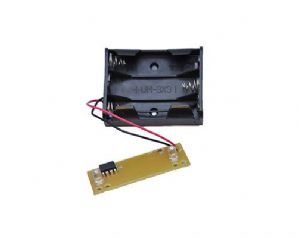 Flasher LED PCB with Battery Box for Dummy Alarm Siren Security Bell Flash Box
